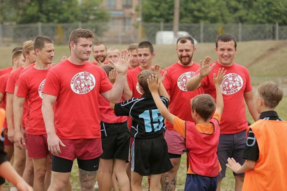 Профессиональные регбисты тренировали юных криворожан (ФОТО), фото-7