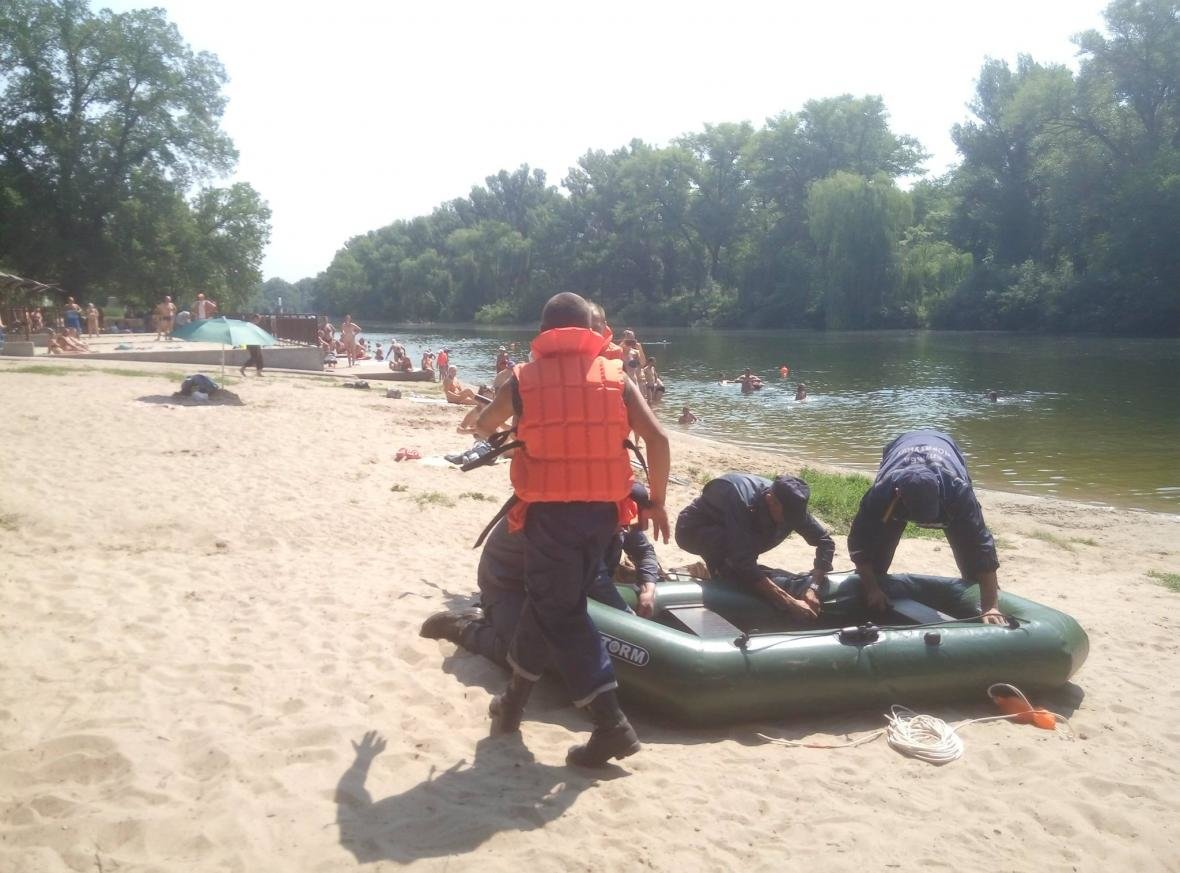 Полицейские и спасатели продемонстрировали криворожанам, как спасают жизнь утопающего (ФОТО), фото-1