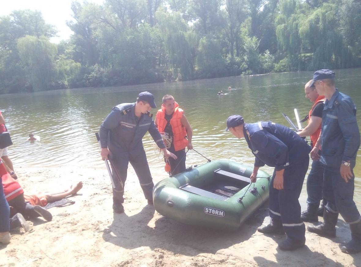 Полицейские и спасатели продемонстрировали криворожанам, как спасают жизнь утопающего (ФОТО), фото-9