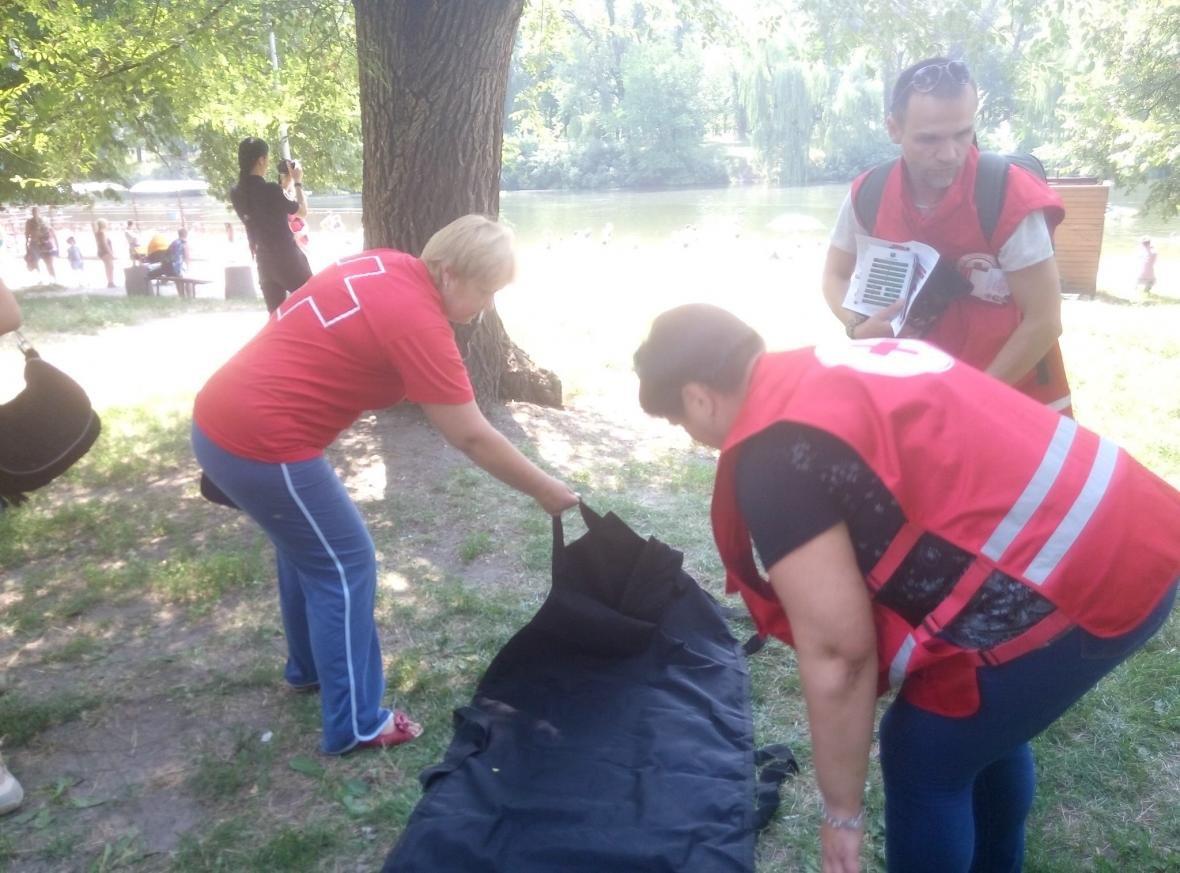 Полицейские и спасатели продемонстрировали криворожанам, как спасают жизнь утопающего (ФОТО), фото-3