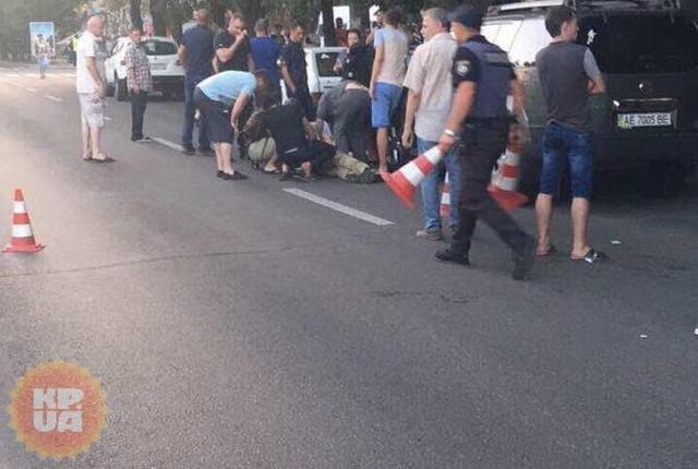 В Днепре убиты 2 участника АТО, тяжело ранен известный адвокат (ФОТО, ВИДЕО 18+), фото-2