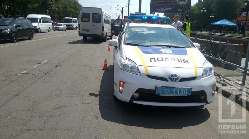 На Соцгороде маршрутка на пешеходном переходе  сбила женщину (ФОТО), фото-1