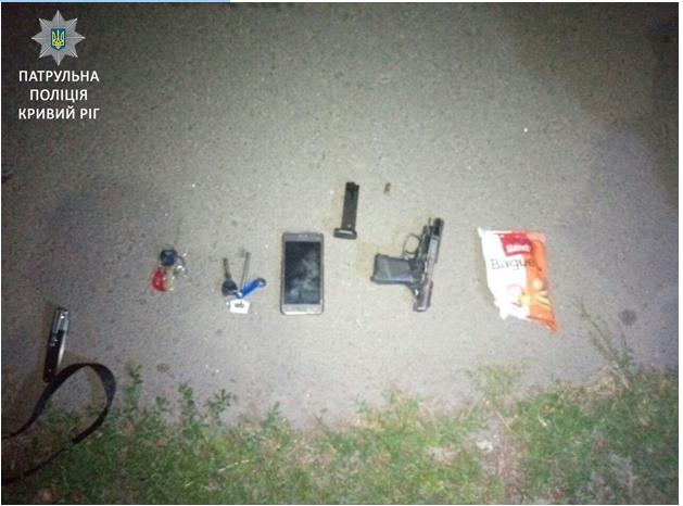 Патрульные нашли мужчину, ранившего из огнестрельного оружия криворожанина (ФОТО), фото-1