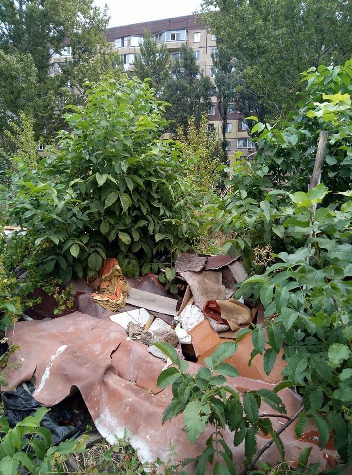 Криворожане создали на месте санитарно-защитной зоны мусорную свалку (ФОТО), фото-2
