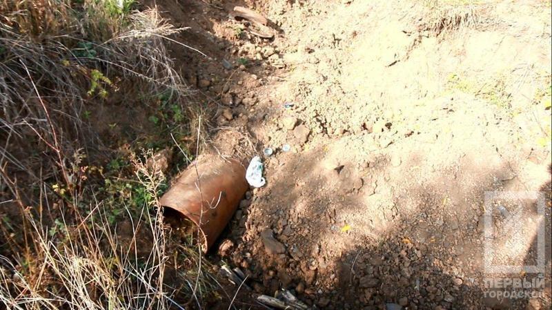 """В Криворожском районе """"черные металлисты"""" не оставляют попытки выкопать трубы крупного диаметра (ФОТО), фото-3"""