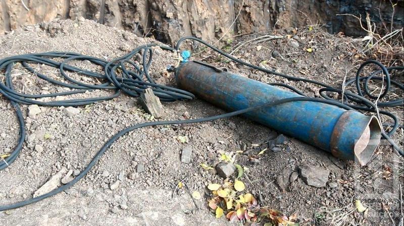 """В Криворожском районе """"черные металлисты"""" не оставляют попытки выкопать трубы крупного диаметра (ФОТО), фото-2"""
