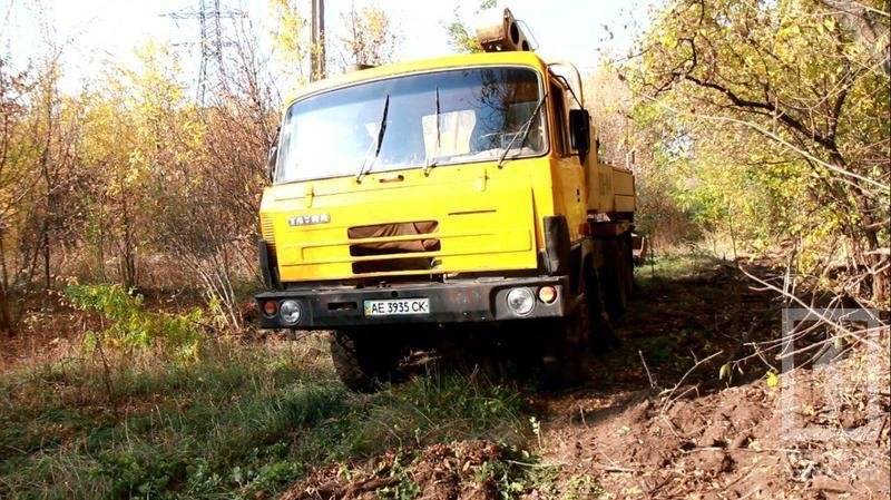 """В Криворожском районе """"черные металлисты"""" не оставляют попытки выкопать трубы крупного диаметра (ФОТО), фото-1"""