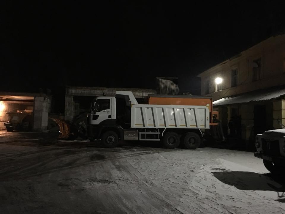 """В УБЖП отчитались, как """"пережили"""" первый длительный снегопад в Кривом Роге (ФОТО), фото-2"""