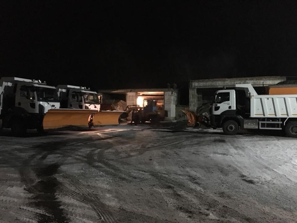 """В УБЖП отчитались, как """"пережили"""" первый длительный снегопад в Кривом Роге (ФОТО), фото-1"""