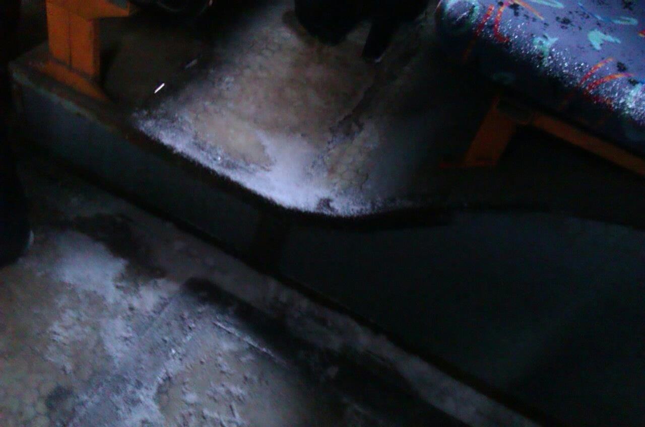 Криворожан засыпало снегом в троллейбусе   (ФОТО), фото-3