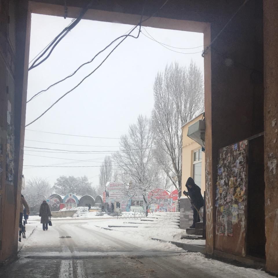 """За день в Кривом Роге использовали 338 тонн противогололедной смеси и ночью будут убирать """"кашу"""" с дорог (ФОТО), фото-23"""