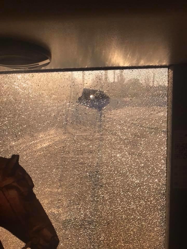 В Кривом Роге неизвестные обстреляли автобус (ФОТО), фото-2