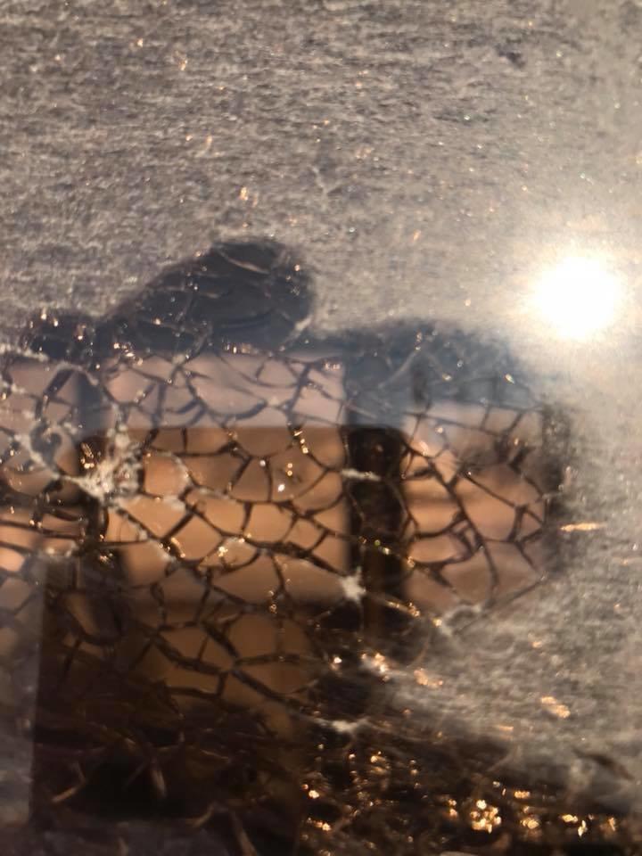 В Кривом Роге неизвестные обстреляли автобус (ФОТО), фото-1