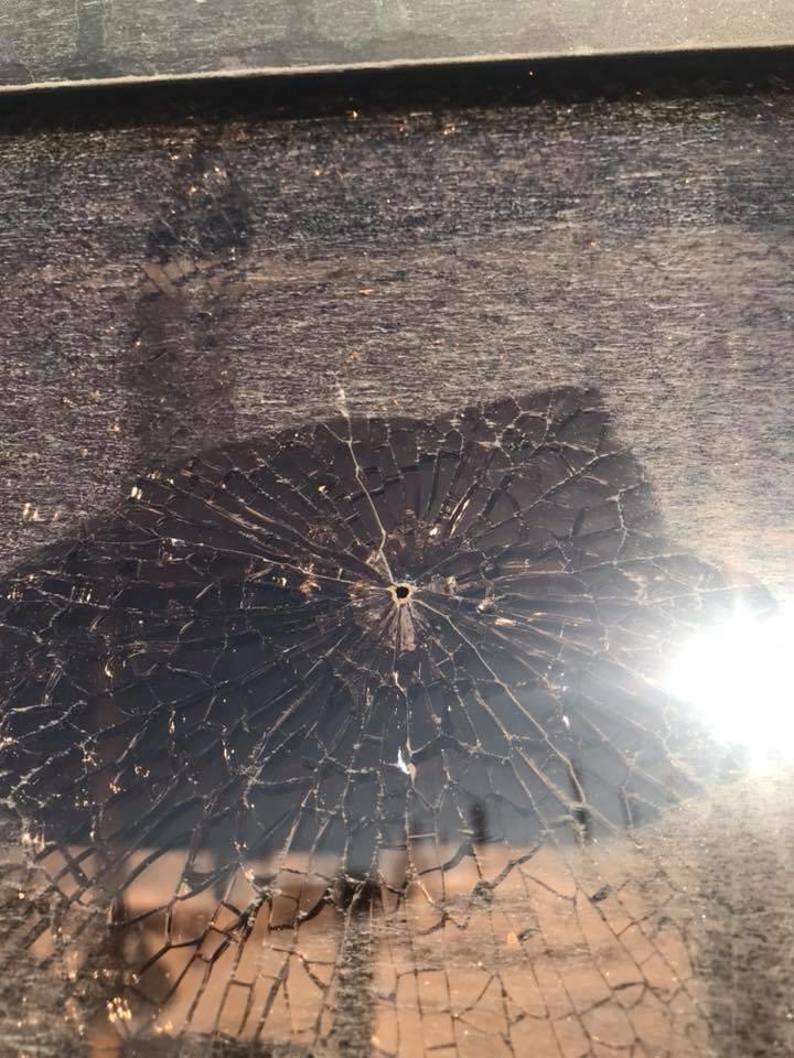 В Кривом Роге неизвестные обстреляли автобус (ФОТО), фото-4