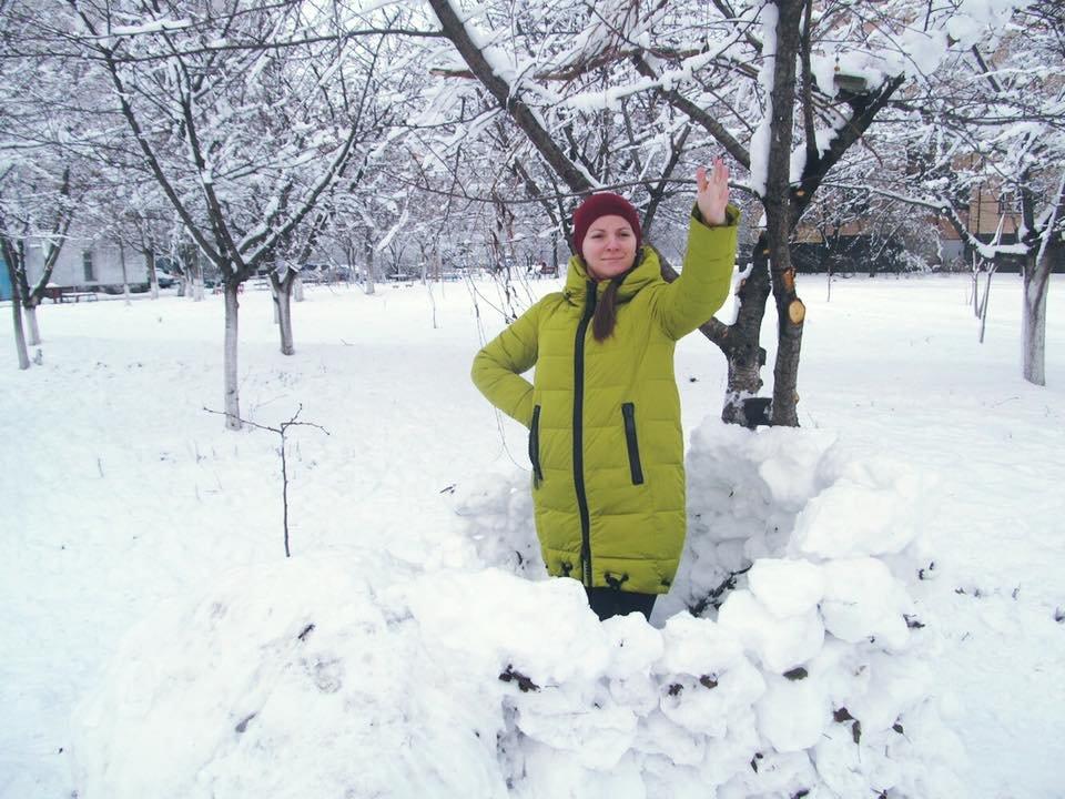 Снежный флешмоб в Кривом Роге: Горожане вылепили огромного Почекуна и сотни снеговиков (ФОТО), фото-15