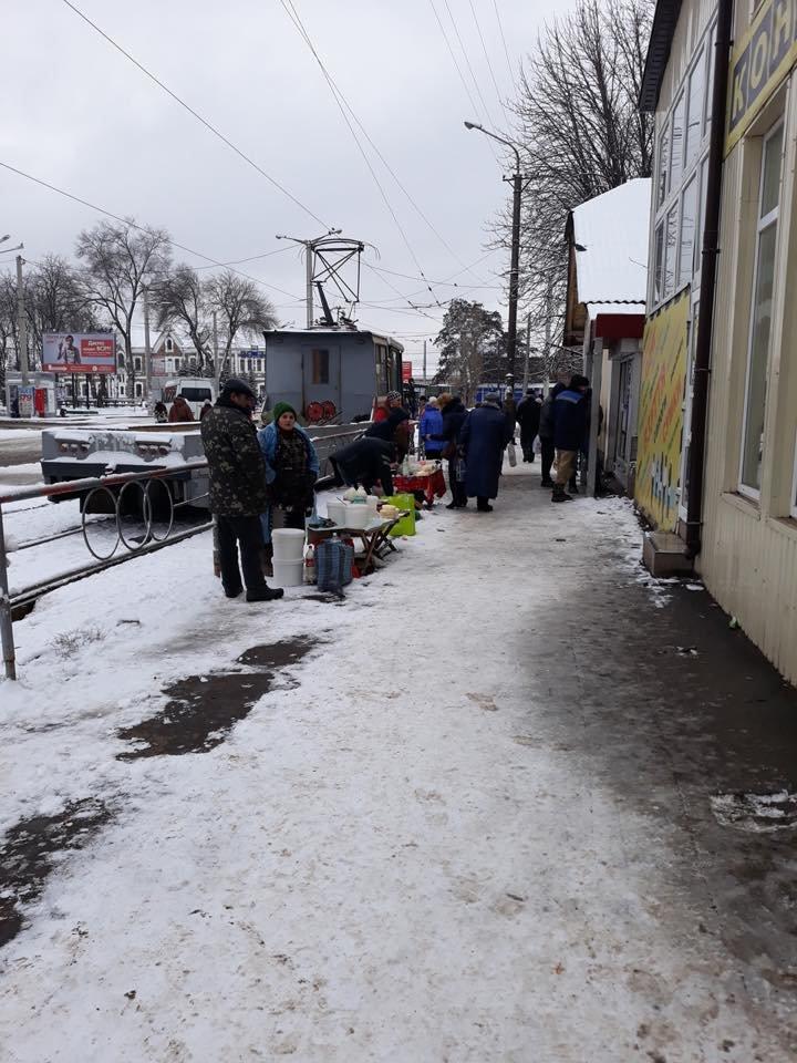 На вокзале у криворожских предпринимателей забрали мясо и мясную продукцию (ФОТО), фото-1