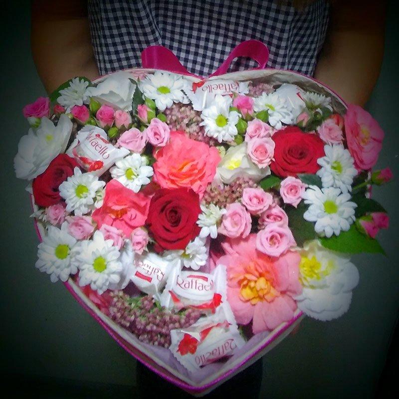 Что подарить 14 февраля? Доставка букетов в День Валентина, фото-11