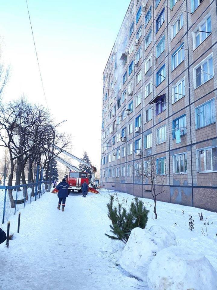 Во время масштабного пожара в криворожской многоэтажке удалось эвакуировать 15 человек (ФОТО), фото-5