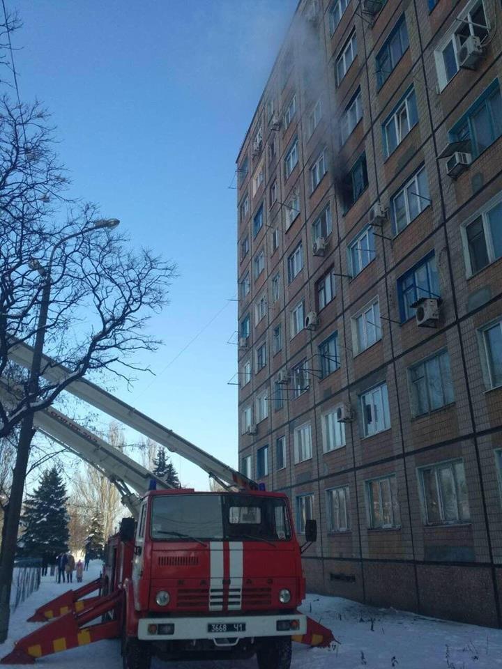 Во время масштабного пожара в криворожской многоэтажке удалось эвакуировать 15 человек (ФОТО), фото-3