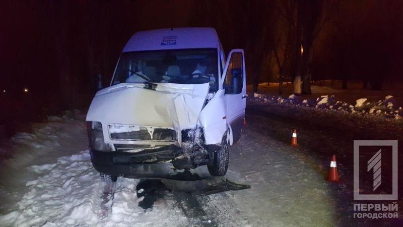 ДТП в Кривом Роге: микроавтобус влетел в электроопору, водителя госпитализировали (ФОТО), фото-3