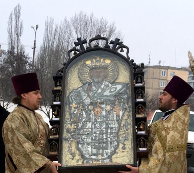 В Кривой Рог прибыла чудотворная икона из Чернобыля (ФОТО), фото-3