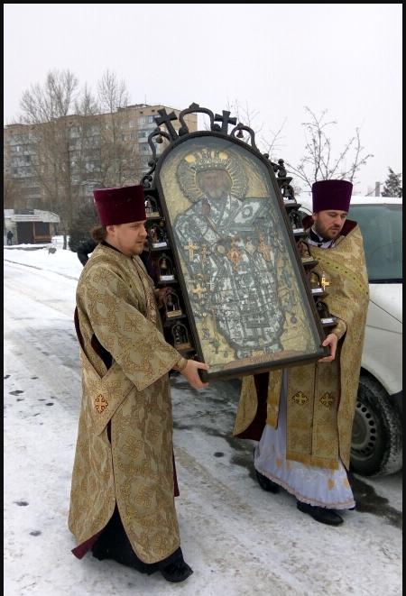 В Кривой Рог прибыла чудотворная икона из Чернобыля (ФОТО), фото-2