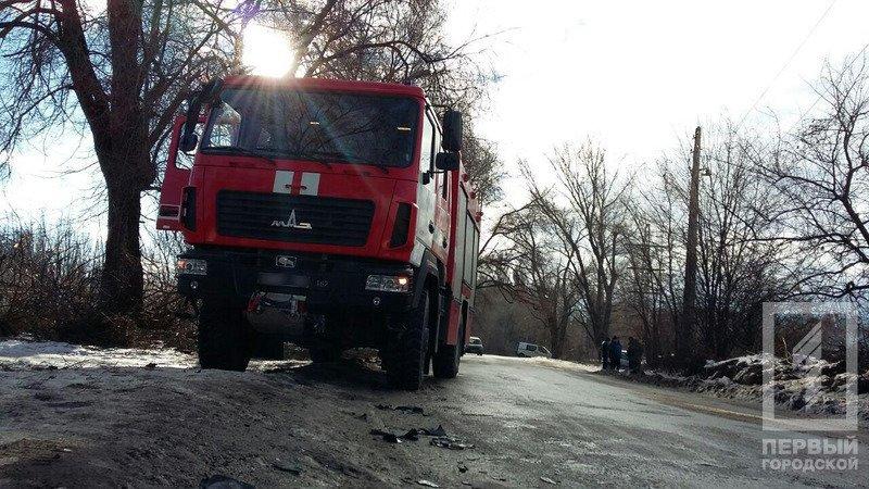 В Кривом Роге легковушка столкнулась с МАЗом спасателей. есть пострадавшие (ФОТО), фото-2