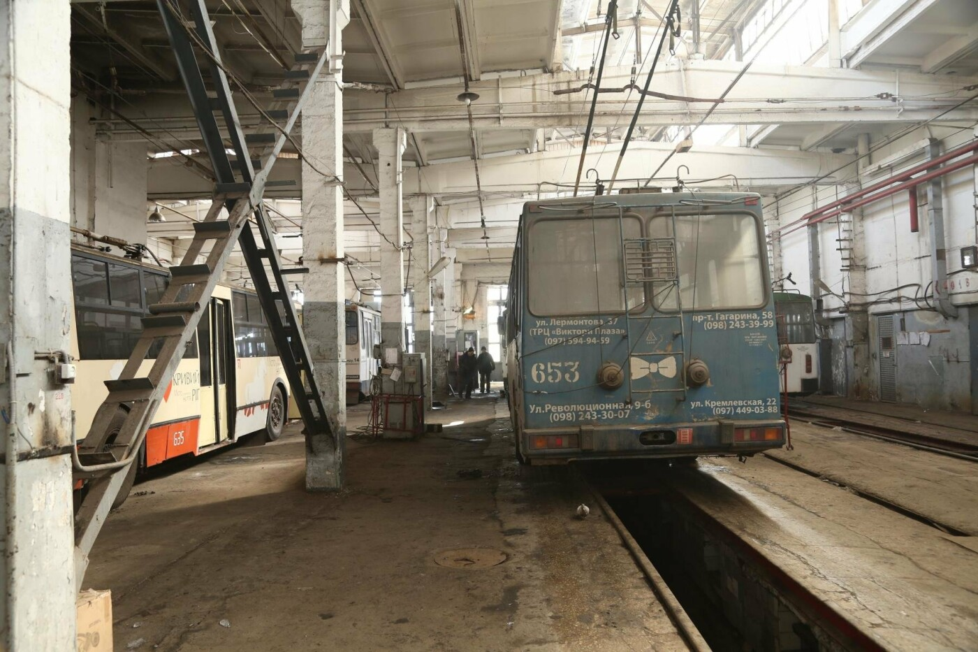 Эксперты ЕБРР с криворжскими чиновниками готовят обоснования для покупки новых троллейбусов , фото-6