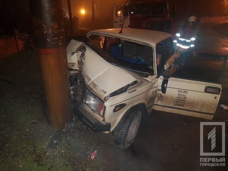 Ночью в Кривом Роге в результате жуткой аварии погиб мужчина, которого доставали с помощью спецтехники (ФОТО 18+), фото-2