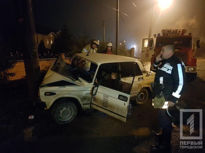 Ночью в Кривом Роге в результате жуткой аварии погиб мужчина, которого доставали с помощью спецтехники (ФОТО 18+), фото-1