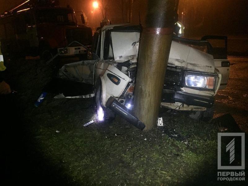 Ночью в Кривом Роге в результате жуткой аварии погиб мужчина, которого доставали с помощью спецтехники (ФОТО 18+), фото-7