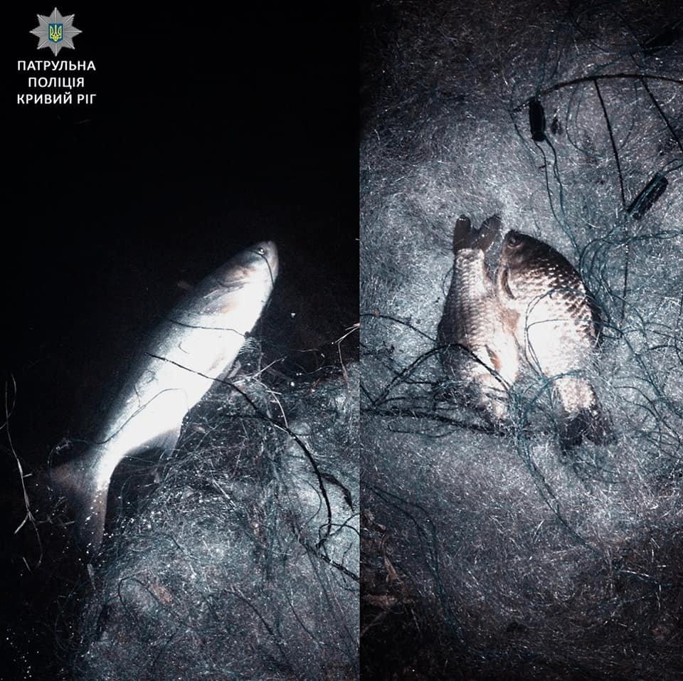 """Полицейский """"улов"""": ночью задержали двоих криворожан-браконьеров (ФОТО), фото-2"""