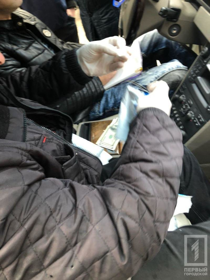 В Кривом Роге на взятке задержали директора одного из предприятий (ФОТО), фото-1