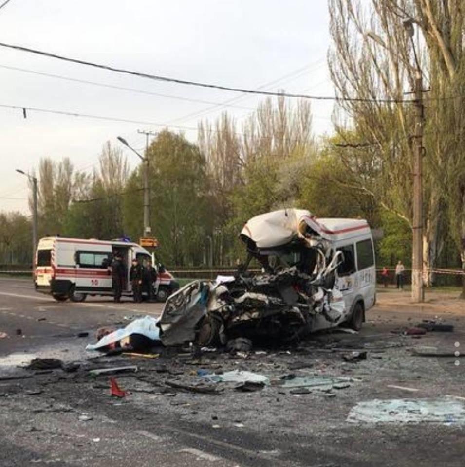 В Кривом Роге: в жуткой аварии погибли 8 человек, митинговали рабочие АМКР,  в АТО погиб Максим Черкун , фото-1