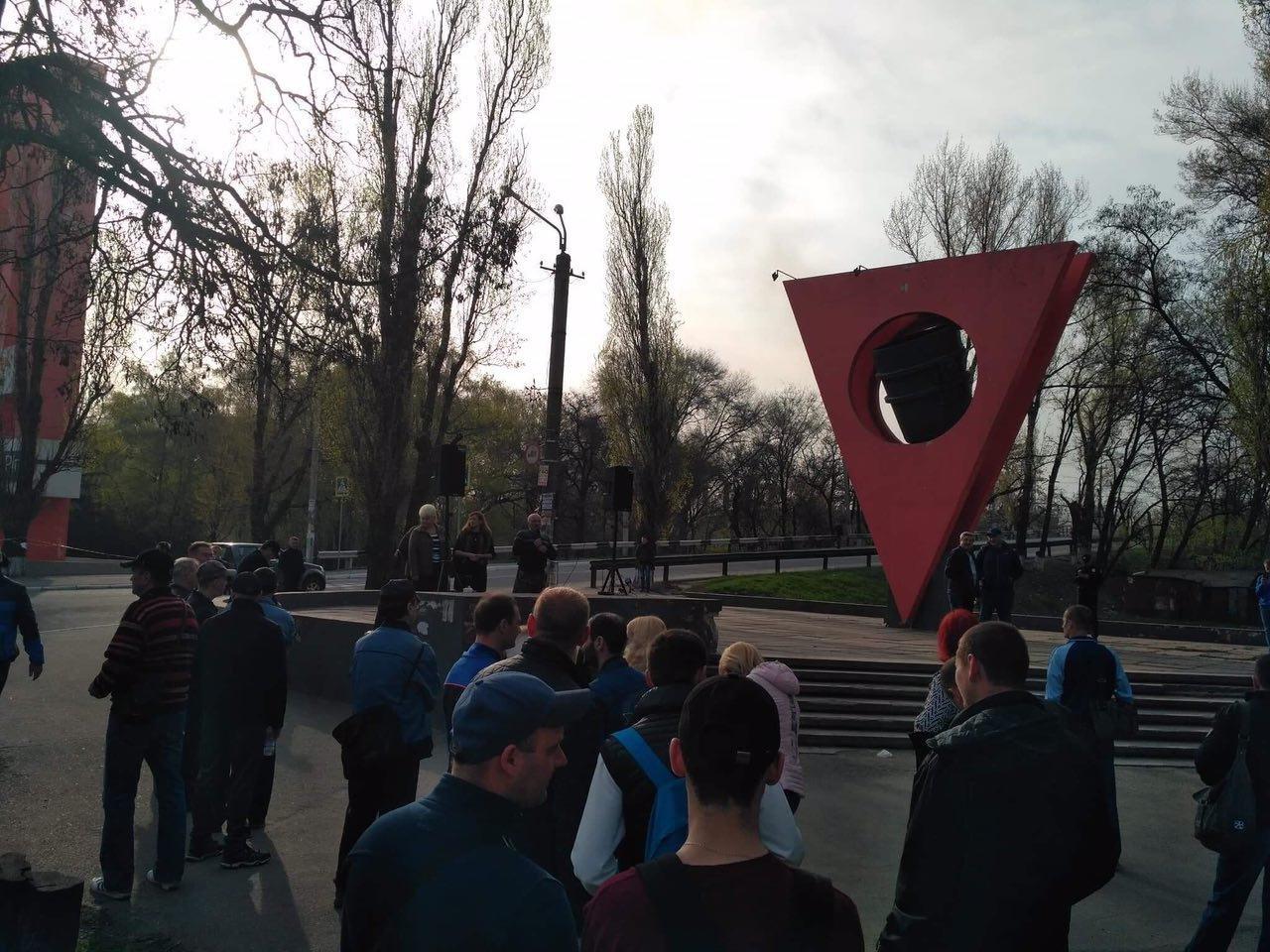 В Кривом Роге: в жуткой аварии погибли 8 человек, митинговали рабочие АМКР,  в АТО погиб Максим Черкун , фото-2