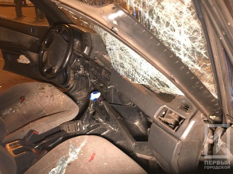 В Кривом Роге от удара иномарки перевернулся микроавтобус с женщиной в салоне (ФОТО), фото-5