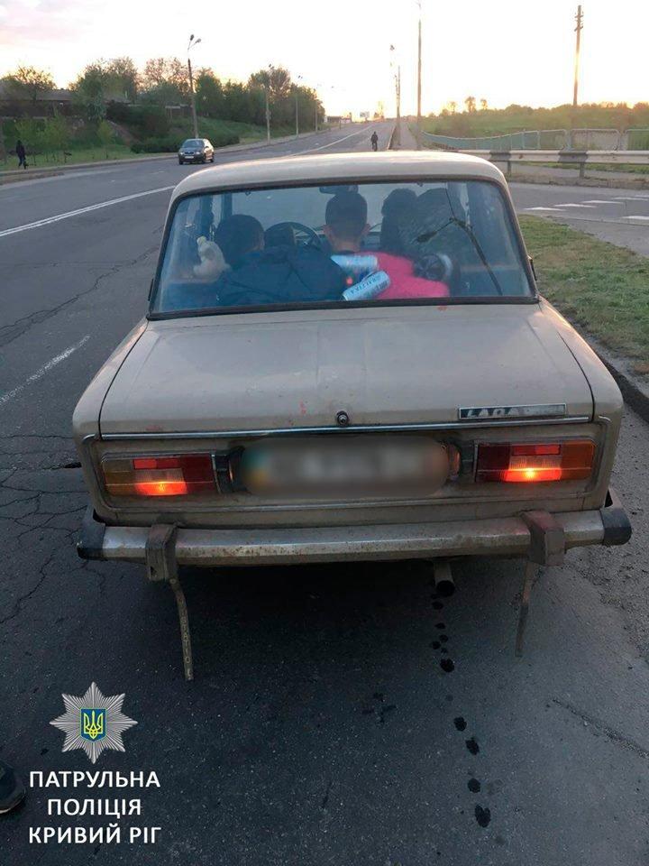 В Кривом Роге выявили  очередного потенциального убийцу на дороге (ФОТО), фото-1