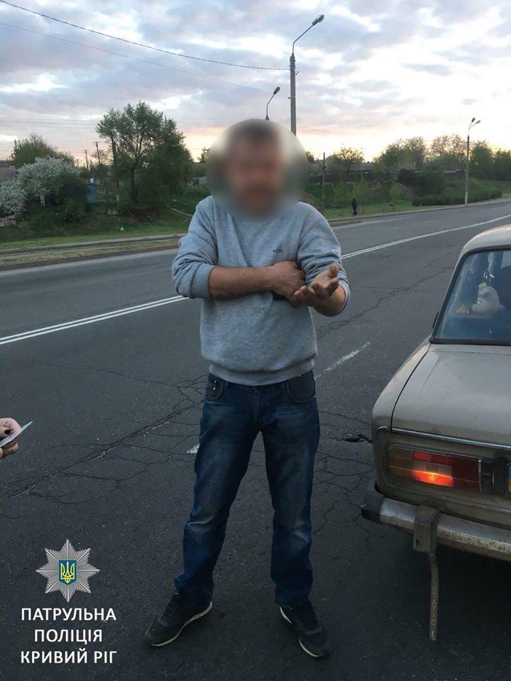 В Кривом Роге выявили  очередного потенциального убийцу на дороге (ФОТО), фото-2