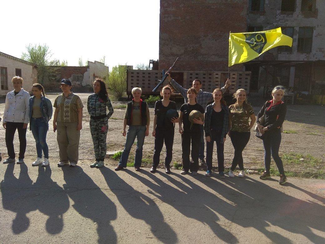 Бойцы АТО обучили криворожанок самообороне и оказывать медицинскую помощь в экстренных ситуациях  (ФОТО), фото-1
