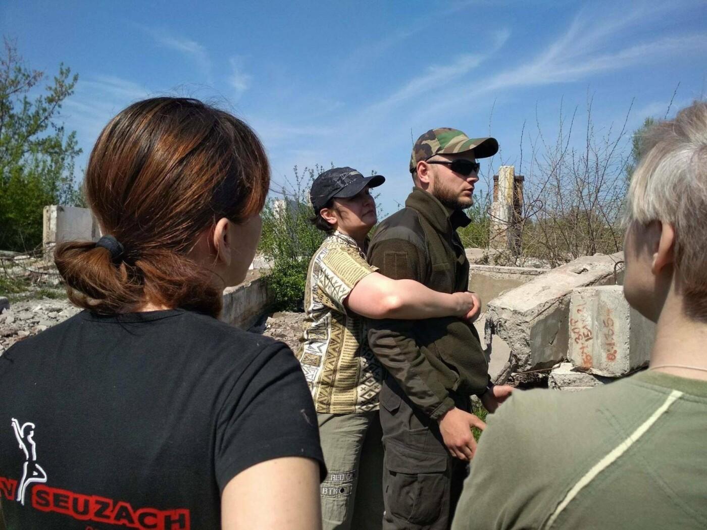 Бойцы АТО обучили криворожанок самообороне и оказывать медицинскую помощь в экстренных ситуациях  (ФОТО), фото-32
