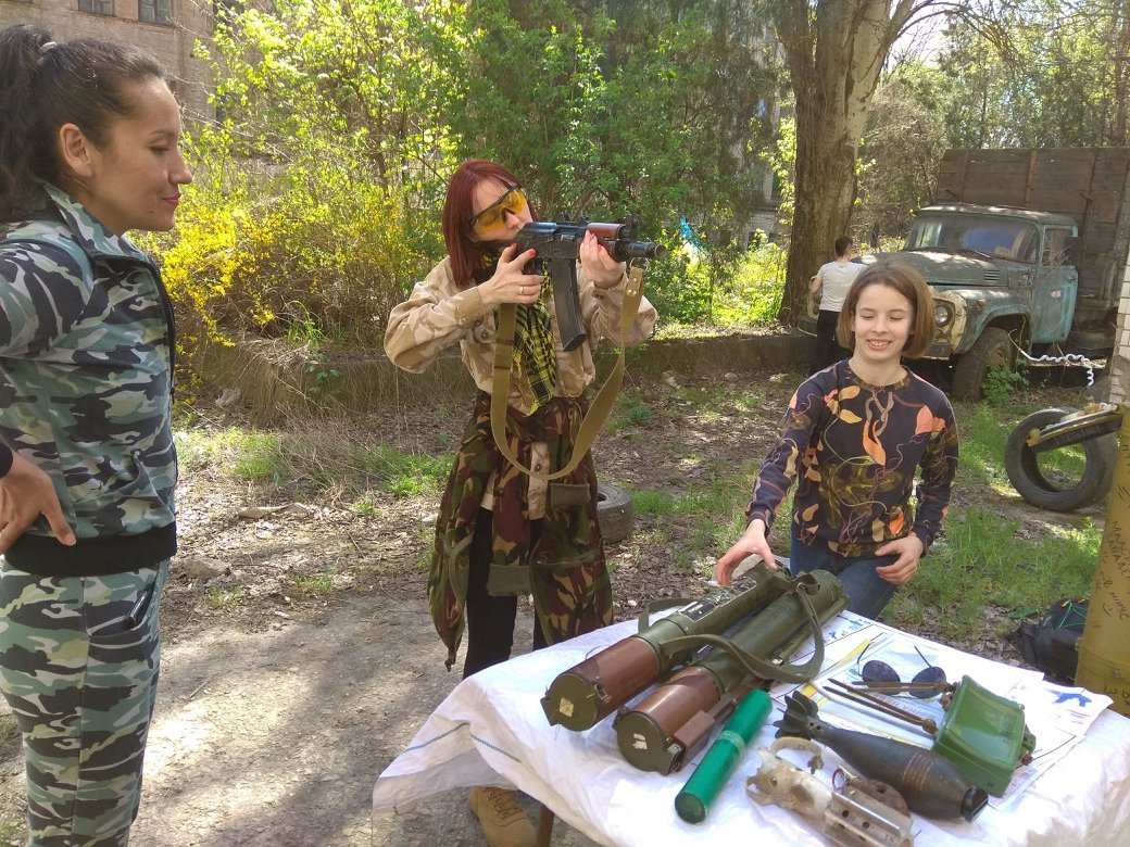 Бойцы АТО обучили криворожанок самообороне и оказывать медицинскую помощь в экстренных ситуациях  (ФОТО), фото-24