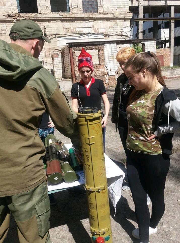 Бойцы АТО обучили криворожанок самообороне и оказывать медицинскую помощь в экстренных ситуациях  (ФОТО), фото-13