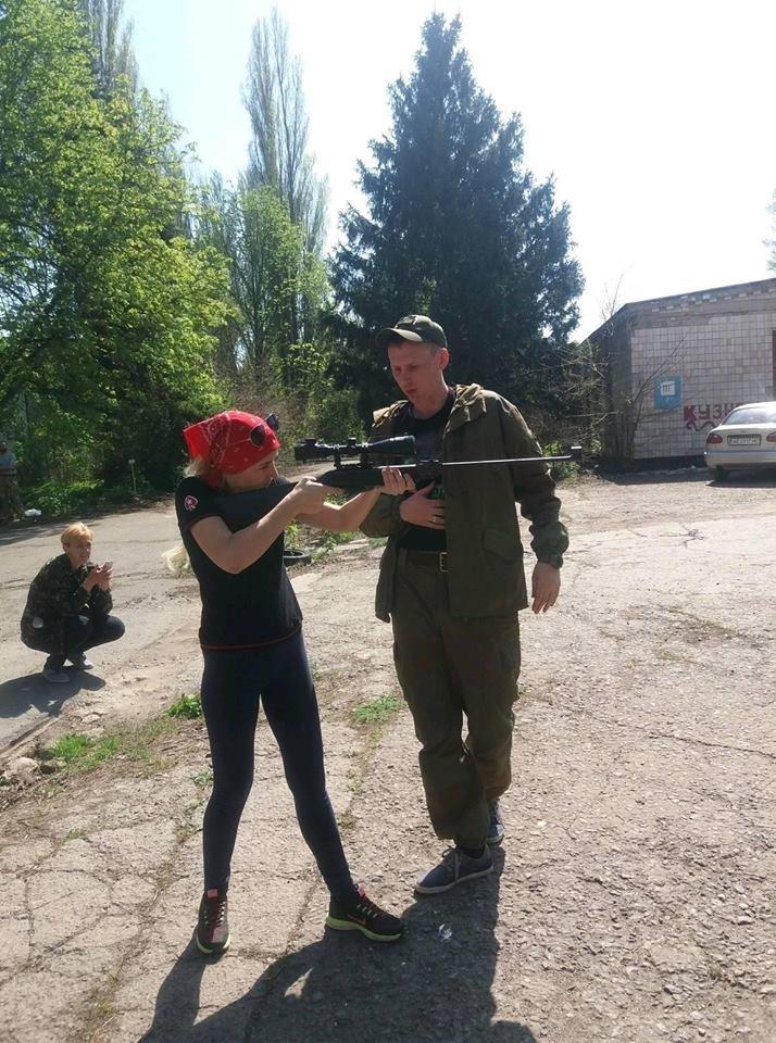 Бойцы АТО обучили криворожанок самообороне и оказывать медицинскую помощь в экстренных ситуациях  (ФОТО), фото-21