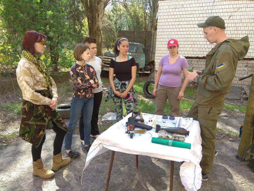 Бойцы АТО обучили криворожанок самообороне и оказывать медицинскую помощь в экстренных ситуациях  (ФОТО), фото-31