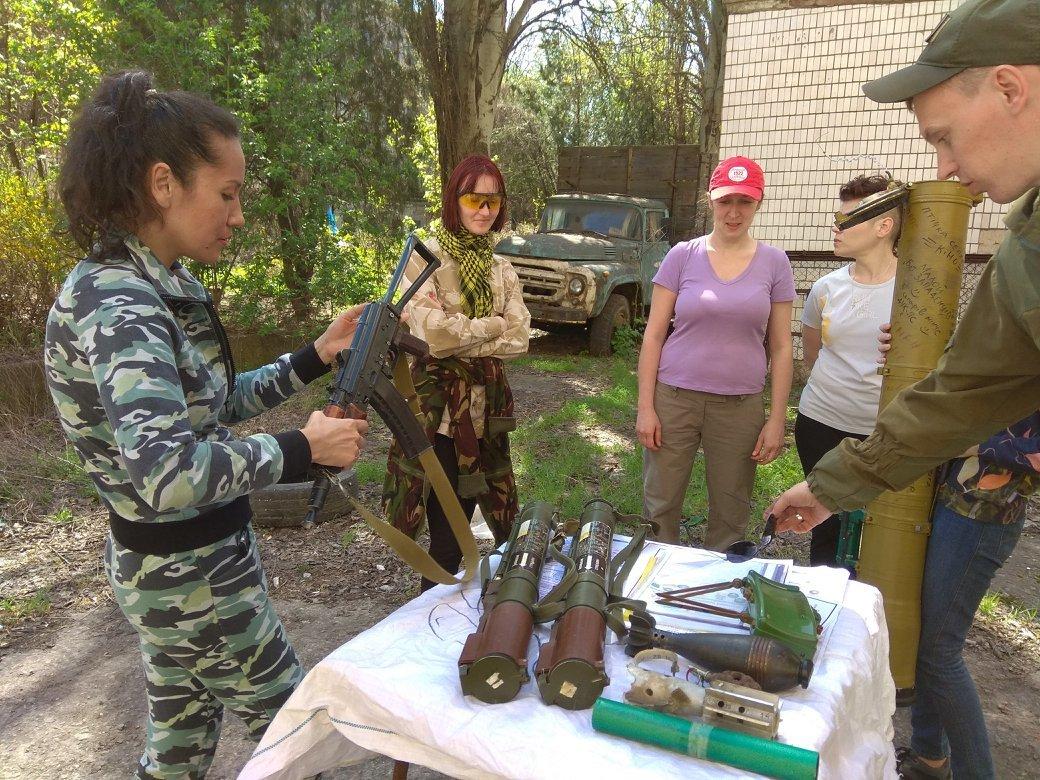 Бойцы АТО обучили криворожанок самообороне и оказывать медицинскую помощь в экстренных ситуациях  (ФОТО), фото-25