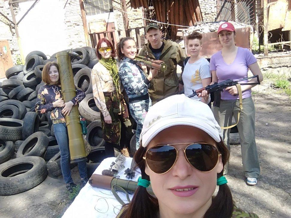 Бойцы АТО обучили криворожанок самообороне и оказывать медицинскую помощь в экстренных ситуациях  (ФОТО), фото-18