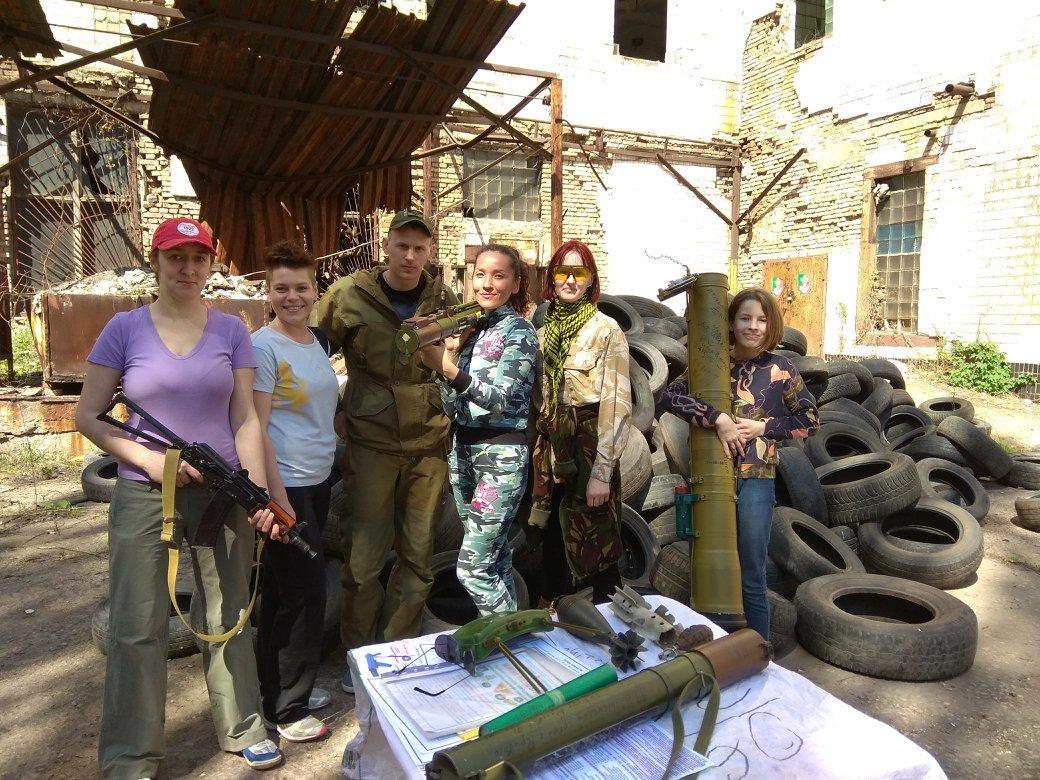 Бойцы АТО обучили криворожанок самообороне и оказывать медицинскую помощь в экстренных ситуациях  (ФОТО), фото-26