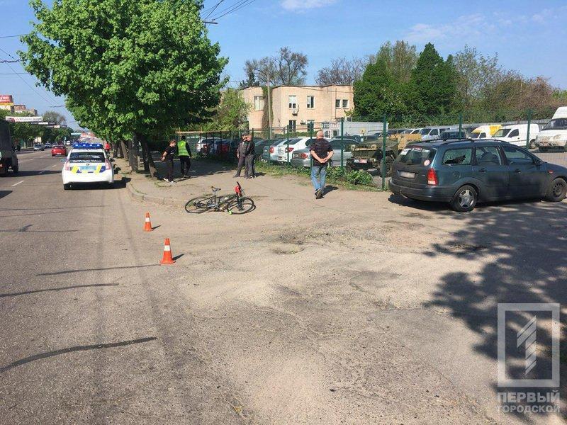 В Кривом Роге под колеса автомобиля попал пожилой велосипедист (ФОТО), фото-4