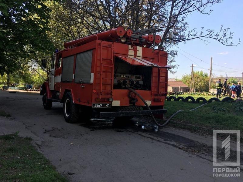 В Кривом Роге неизвестные подожгли шины (ФОТО), фото-2