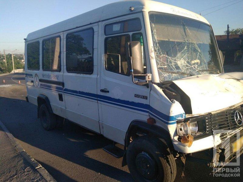 ДТП в Кривом Роге: 5 человек пострадали в результате столкновения микроавтобусов, - ФОТО, фото-2
